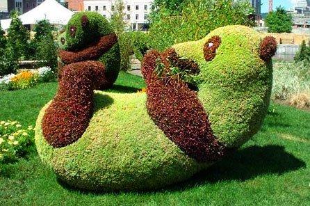 игрушки из растений